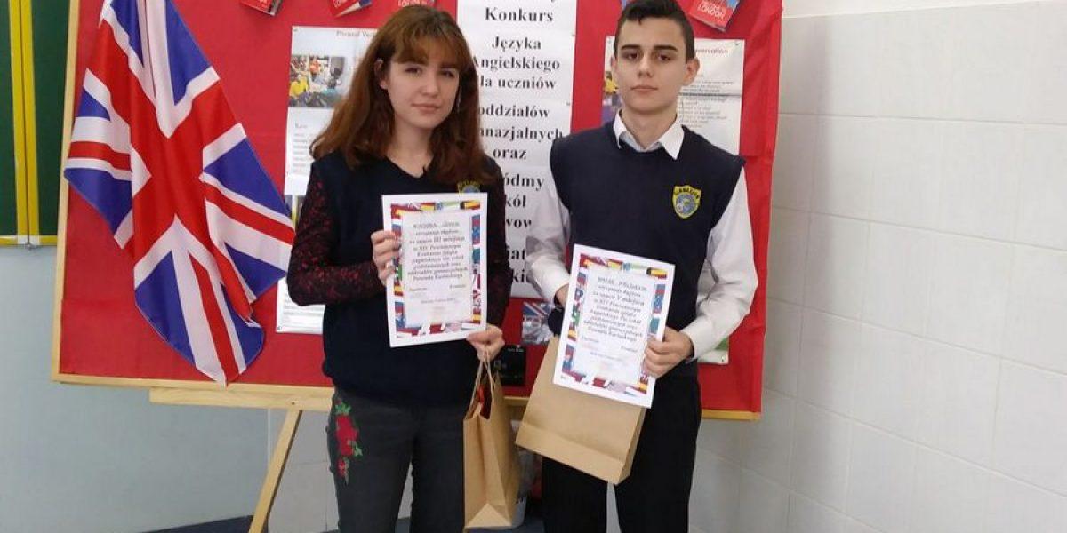XIV Powiatowy Konkurs Języka Angielskiego