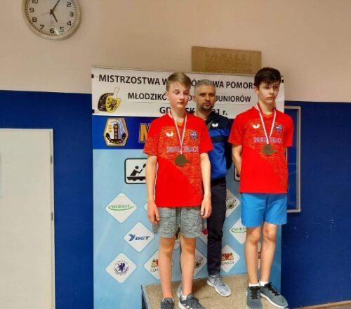 2021.04.25 M. Wolski z brązem w tenisie stołoqym (2)